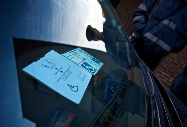 Four motorists have been fined for using their son or daughter's blue badge permits