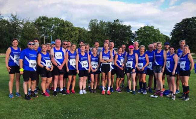 Dursley runners at Frampton