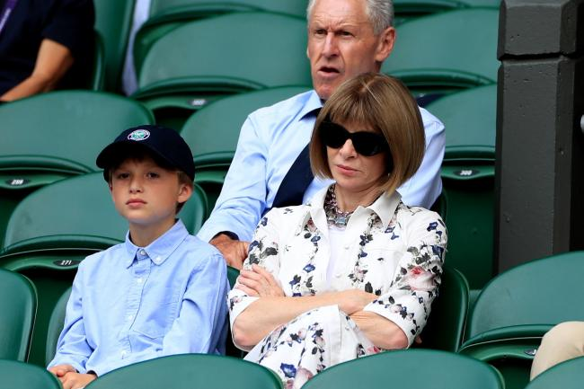 Anna Wintour at Wimbledon