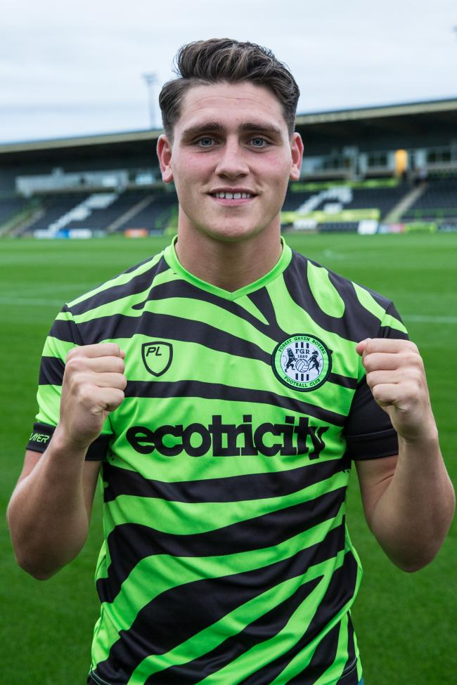 PACKING A PUNCH: Matty Stevens has joined FGR               Pic: Shane Healey
