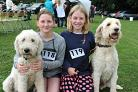 Matilda Lambert, 11, and Lily with Gwen Lambert, 10 and Theo at a previous show