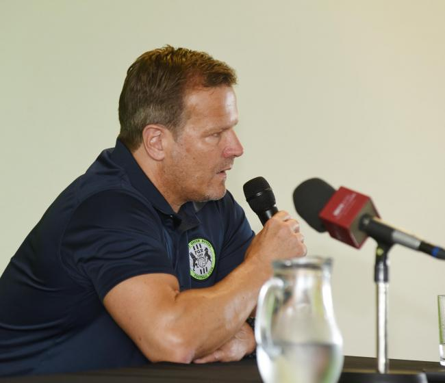 Everything Mark Cooper had to say before league leaders Forest Green face Plymouth Argyle