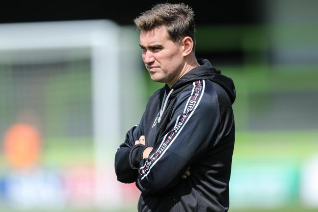 Grimsby boss Michael Jolley                           Pic: Shane Healey/ Pro Sports Image