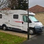 The motorhome that was stolen