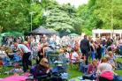An image taken from the recent Yate Rocks festival at Kingsgate Park