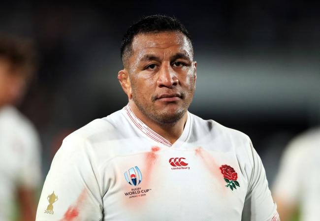 File photo dated 26-10-2019 of England's Mako Vunipola. PA Photo. Issue date: Wednesday March 4, 2020. Saracens say Mako Vunipola has not displayed symptoms of the coronavirus and will be available to face Leicester this weekend. See PA story RUGBYU S