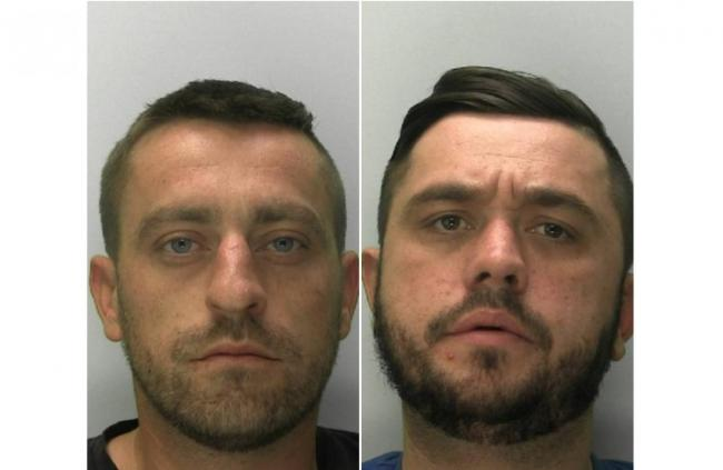 Daniel and Lee Fisher. Images: Gloucestershire Police