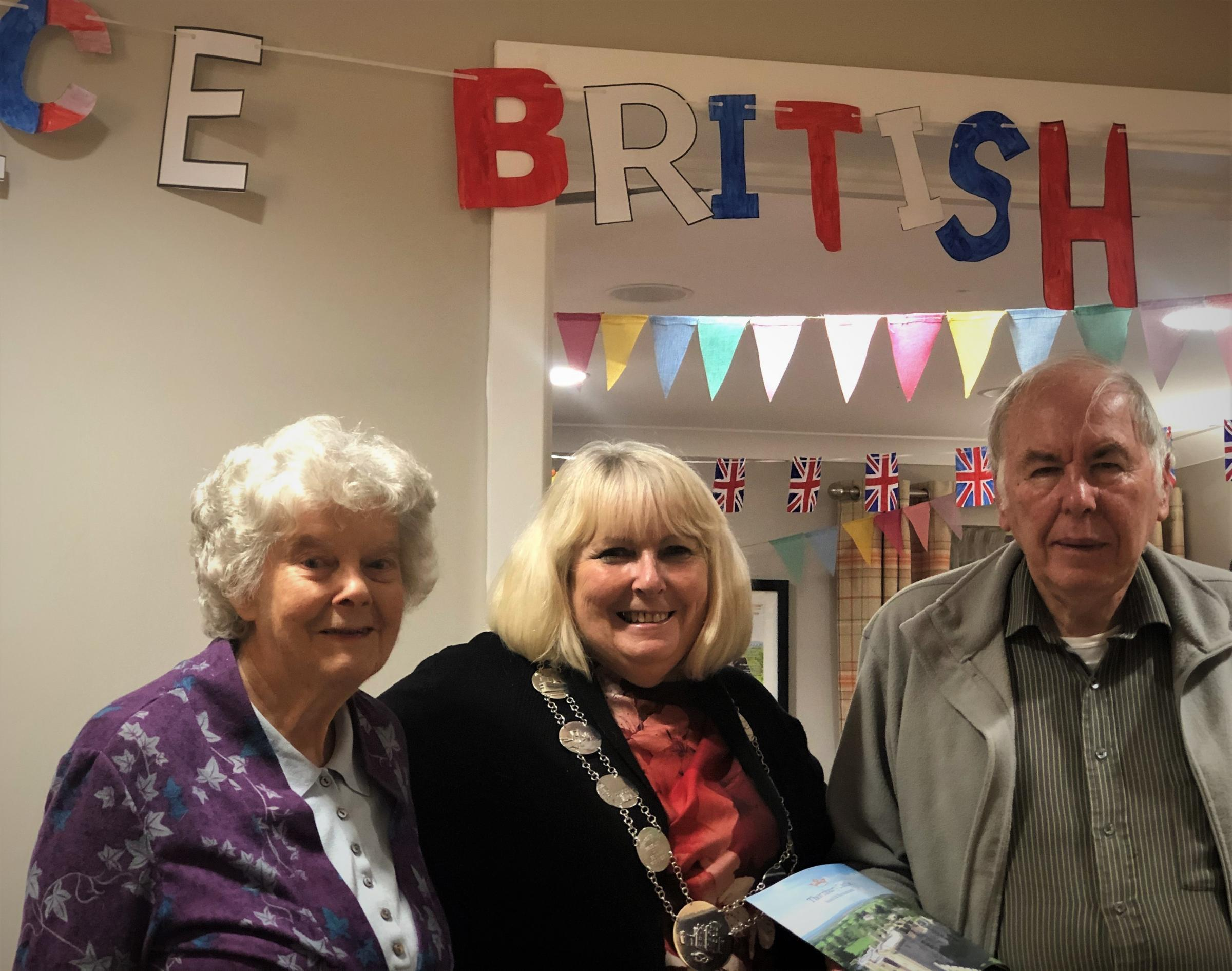 Thornbury Mayor attends bake off style event at residential home - South Cotswolds Gazette