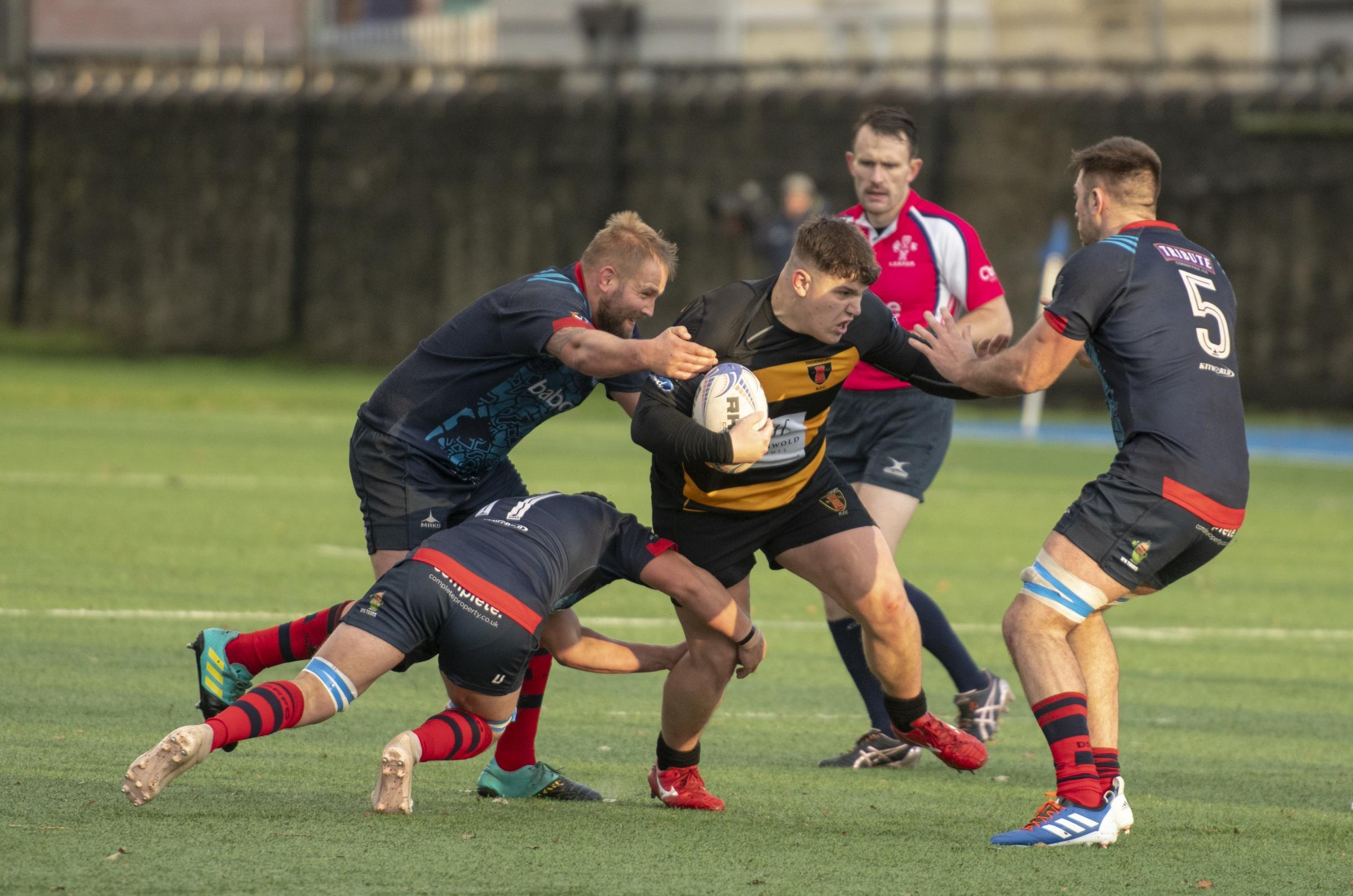 RUGBY: Thornbury lose top of the table clash - Gazette Series
