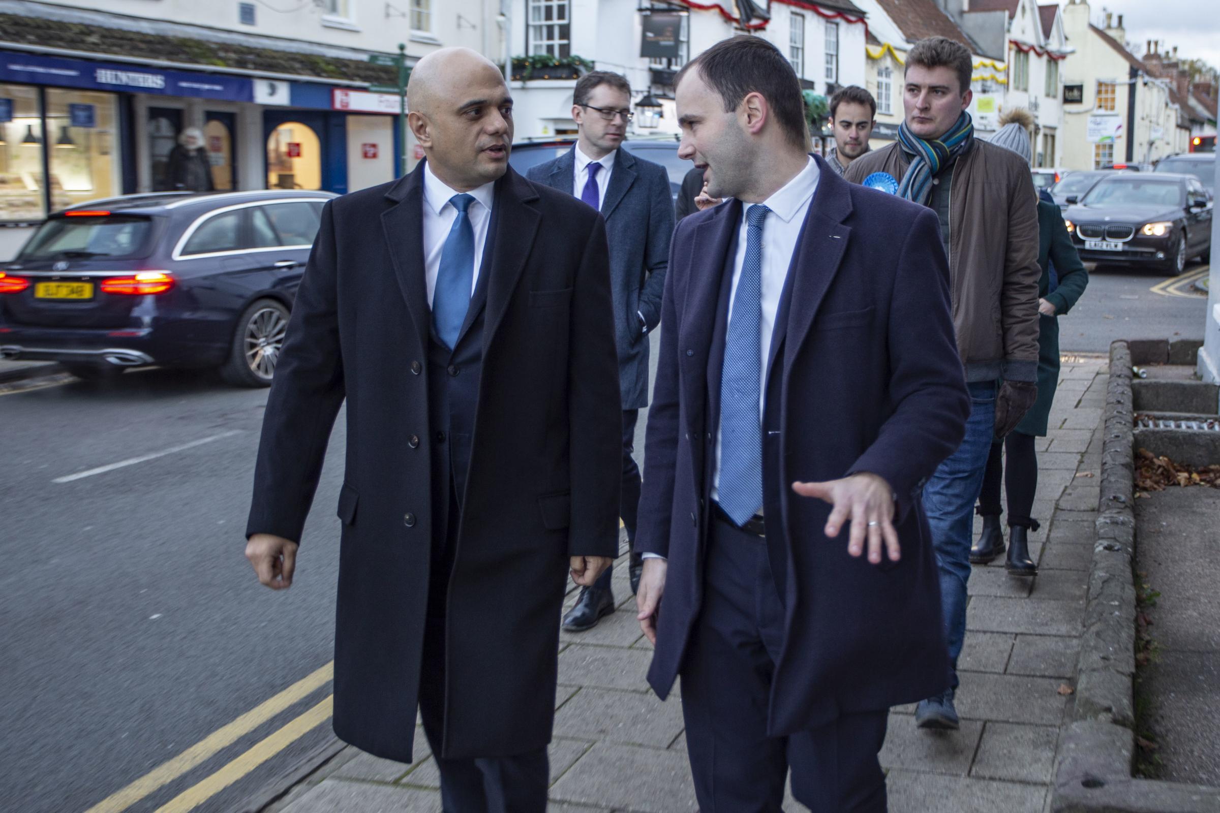 WATCH: Chancellor Sajid Javid talks South Gloucestershire on visit to Thornbury High Street - Gazette Series