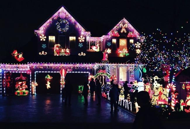 Have you got the best Christmas lights on your road?