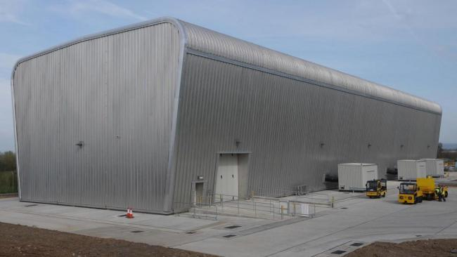 The interim storage facility at Berkeley Power Station