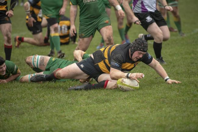 RUGBY: Thornbury out-muscle Newent