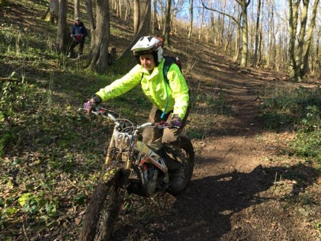 Gloucester's Trudi Silvey took Steve Saunders' TRS X-Track round for 30 marks lost