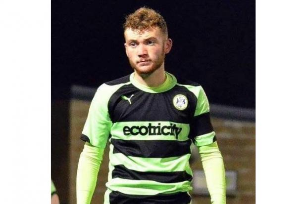 Once a player at Forest Green Rovers, Joe Stokes now spends his days training others to help them reach their fitness goals