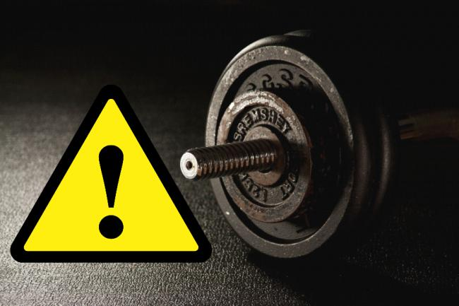 Fitness fans warned not to buy 'dangerous' home-made weights and gym equipment. Picture: Newsquest