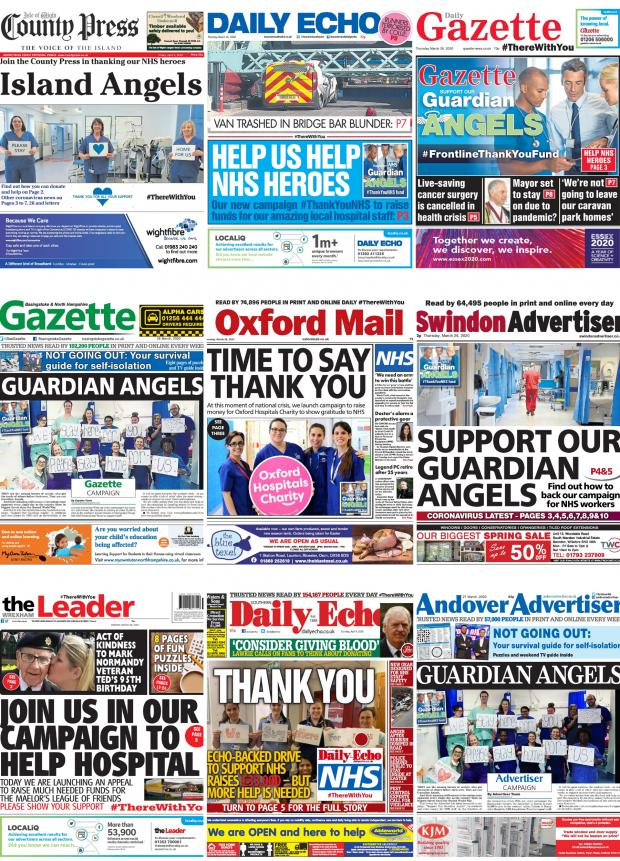 Gazette Series: Newspapers across our group got behind the appeal