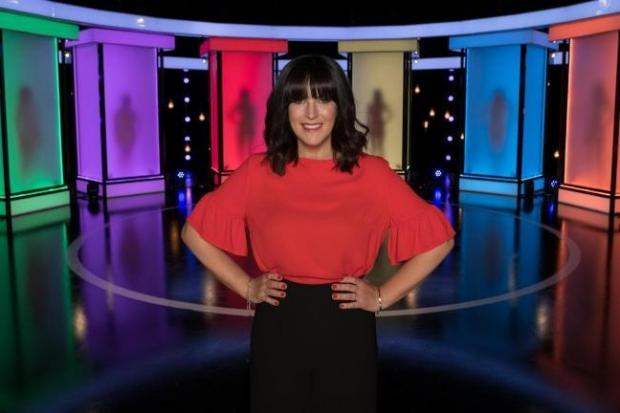 Anna Richardson on C4 show Naked Attraction