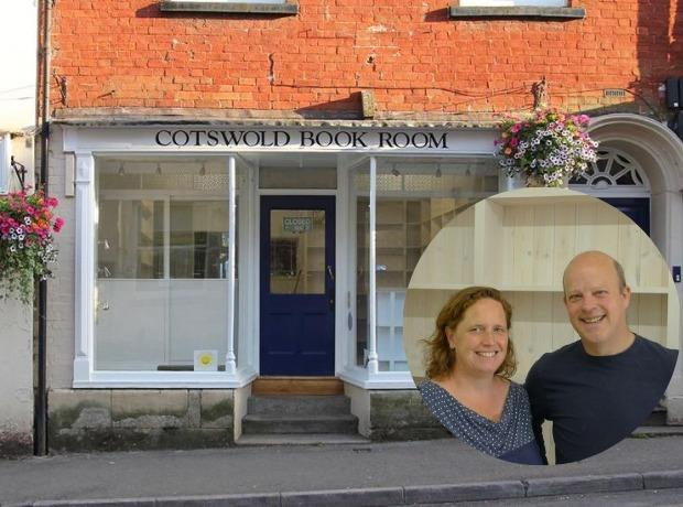 Cathy and Gideon York are refurbishing the Cotswold Book Room on Long Street, and aim to open Wotton under Edge's new independent bookshop next month