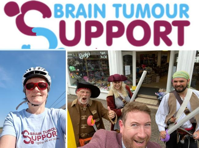 Brain Tumour Support fundraisers