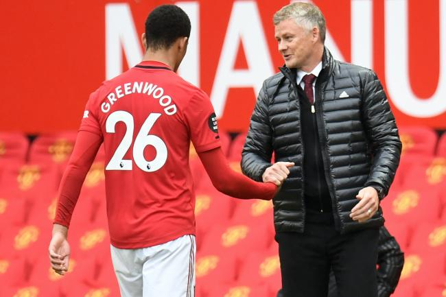 Manchester United manager Ole Gunnar Solskjaer has leapt to the defence of teenage striker Mason Greenwood