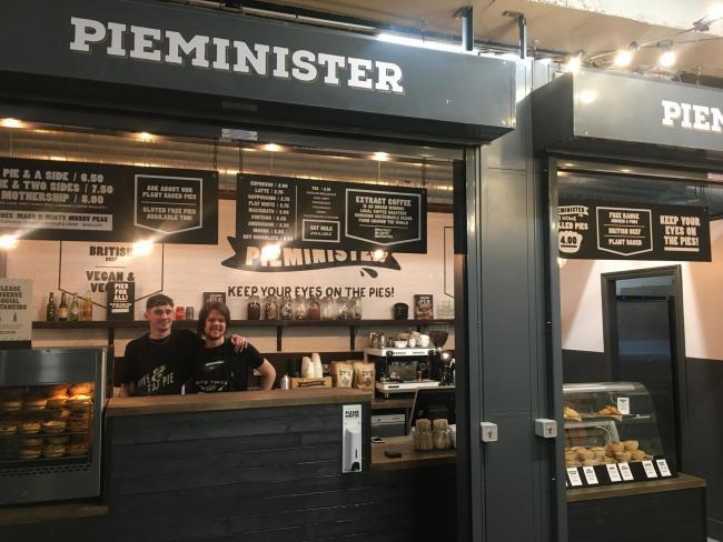Pieminister received the highest rating