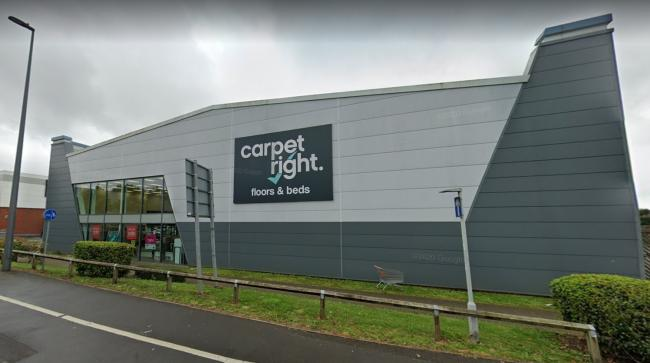 Carpetright store in Cribbs Causeway (Image: Google, free to use by all partners)