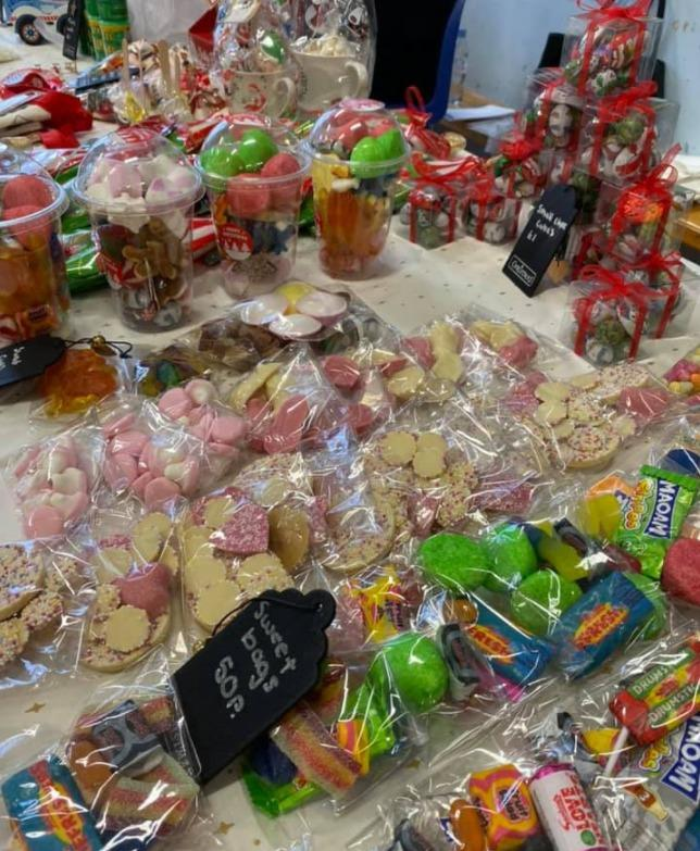 Some of the items available at last year's Christmas Fayre