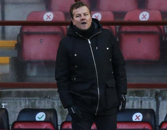 Forest Green Rovers head coach, Mark Cooper