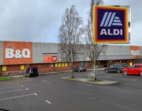 Aldi will join B&Q in Station Road, Yate