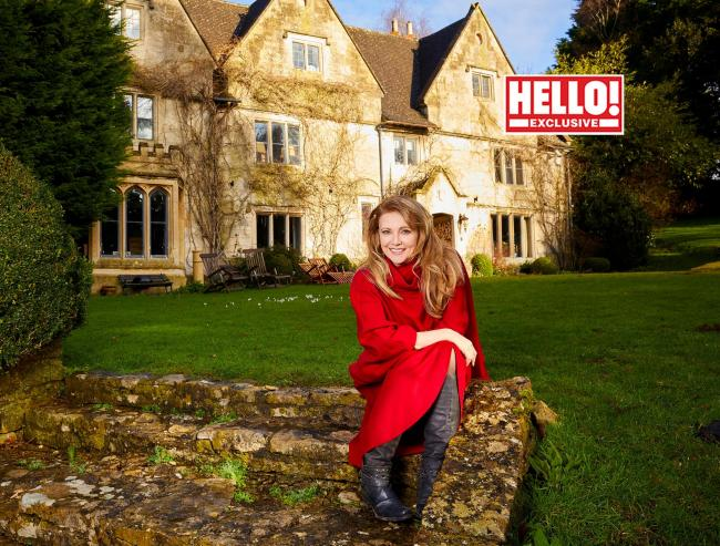 Dynasty star Emma Samms has praised her partner, a BBC journalist for helping her cope with COVID-19 symptoms. Photography by Hello!/PA Wire