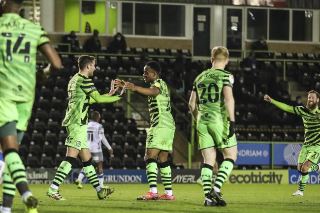 Forest Green Rovers get back to winning ways with drubbing of Colchester United
