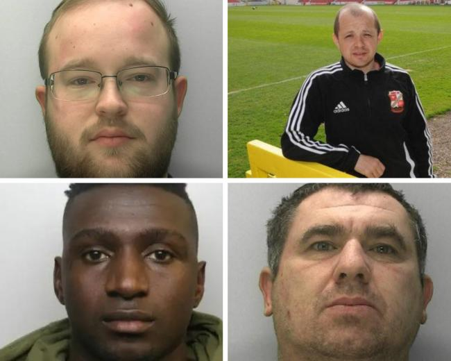 The Gloucestershire criminals jailed in March