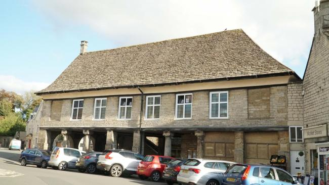 The Market House in Minchinhampton