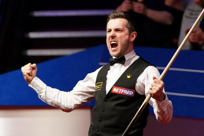 Mark Selby is moving up the list of multiple world champion