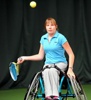Chloe Ball-Hopkins in action at Gloucester