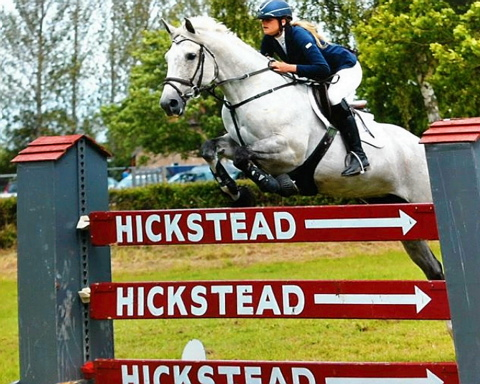 Ella Nutbeen on Blackmoor Penelope Jane at Hickstead