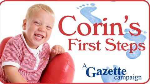 Tune in to TV raffle for little Corin