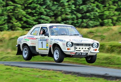 David Stokes in action at the Harry Flatters Rally Picture: Mark Chappell (Gasmark Media)