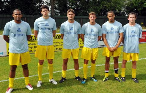 New signings Adnan Hiroli, Ollie Barnes, Micky Bryant, Danny Wring, Mitchell Page and Scott Cousins, who has moved up from the reserves