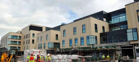 New Southmead Hospital building completed
