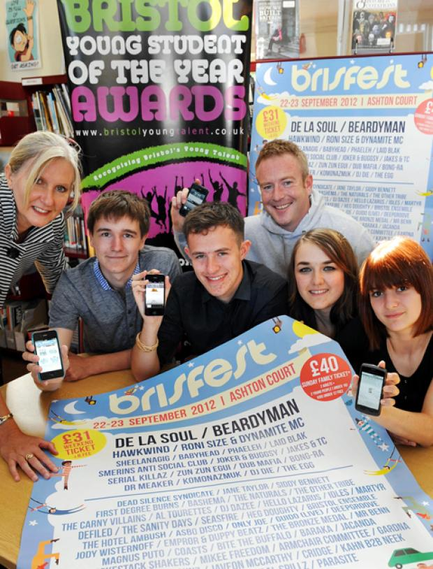 Gazette Series: Bright pupils win best app at Bristol Student of the Year Awards