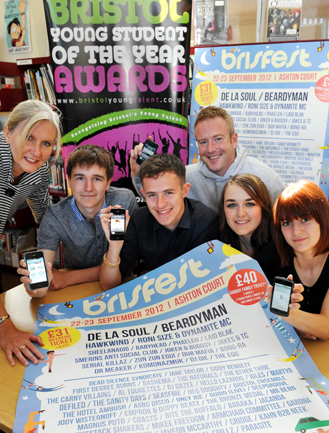 Bright pupils win best app at Bristol Student of the Year Awards