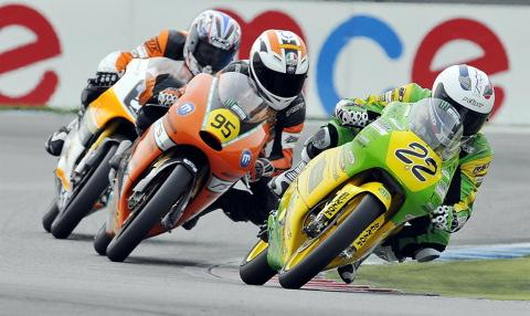 Luke Hedger racing at Assen. Pictures: Full Throttle Imaging