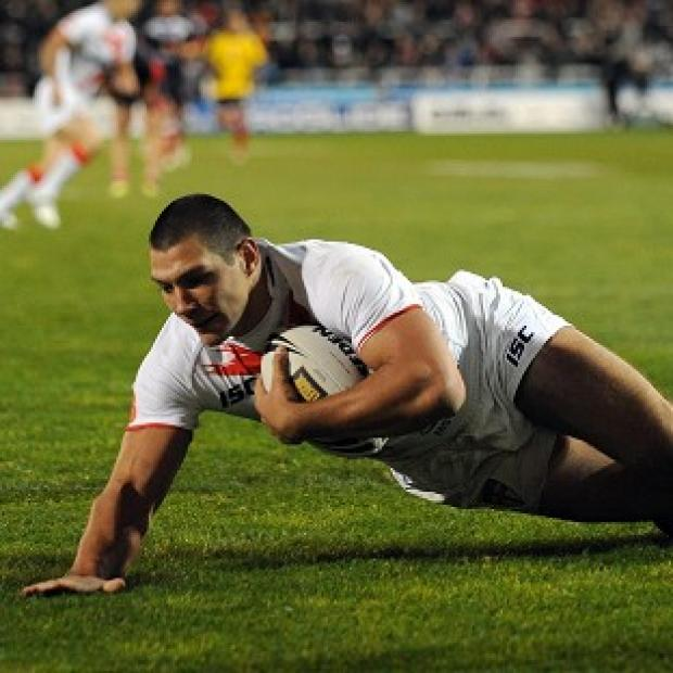 Gazette Series: Ryan Hall scored four tries as England hammered France