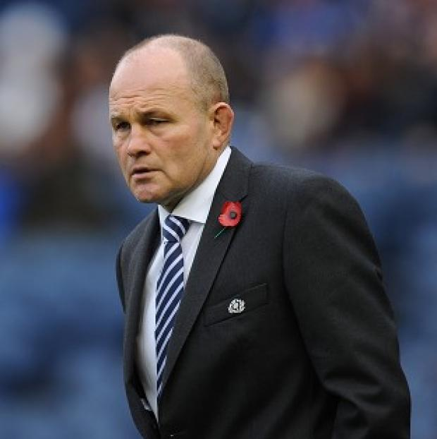 Andy Robinson thought Scotland didn't put enough pressure on New Zealand