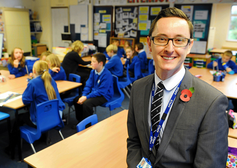 Ross Newman, head teacher at Tyndale Primary School