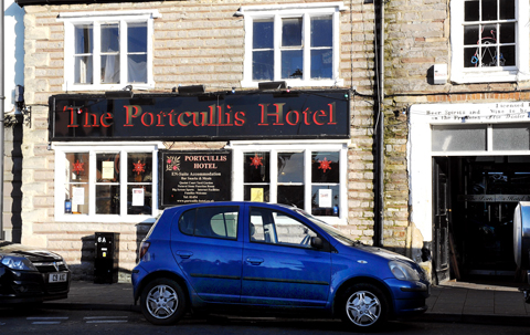 The Portcullis Hotel in Chipping Sodbury has had its licence suspended for three months