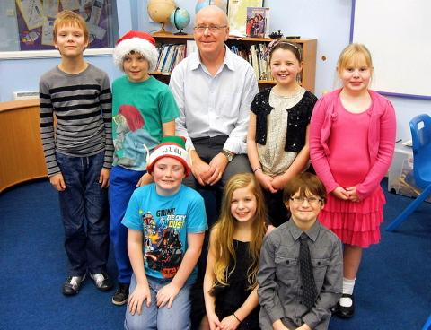 Yate teacher David Wells is retiring from St Mary's Primary School after 29 years