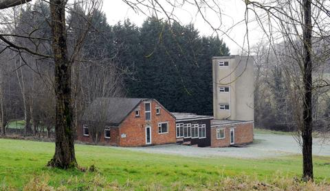 One of the buildings to be redeveloped at Eastwood Park